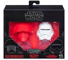 Star Wars Black Series Titanium Helmets Elite Praetorian Guard Flametrooper #09