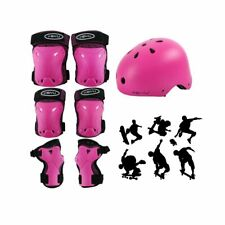 7 Pcs Kids Adjustable Sports Protective Gear Safety Helmet Knee Elbow Wrist Pads