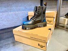 Dr Martens Jadon Blue Vintage Platform Boots