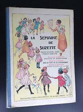Superbe album Reliure La semaine de Suzette 1935 TRES TRES BON ETAT Becassine