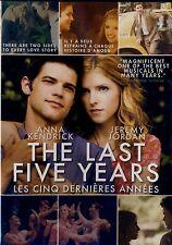 USE DVD  // THE LAST FIVE YEARS // Anna Kendrick, Jeremy Jordan, Meg Hudson, Nat
