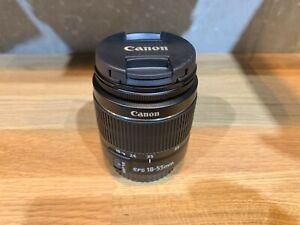 Canon Zoom Lens EF-S 18-55mm 3.5-5.6 BRAND NEW