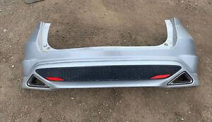 HONDA CIVIC TYPE S FN2 MK8 2006-2011 GENUINE COMPLETE REAR BUMPER IN Silver