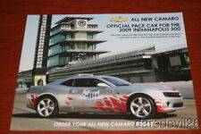 2009 Chevy Camaro Indy 500 Pace Car info card