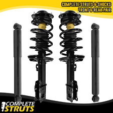 2004-2007 Chevrolet Malibu Quick Complete Struts w/ Coil Springs & Rear Shocks