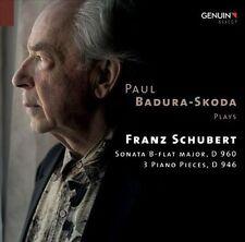 Badura-Skoda Plays Schubert, New Music
