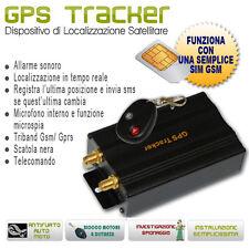 Localizzatore Satellitare  Antifurto GPS veicolare con telecomando Localizzatori