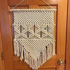 Macrame Wall Hanging, Woven Wall Art, Tapestry Boho Home Decor