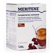 MERITENE  CHOCOLATE  15 SOBRES    100 % ORIGINAL MONOVARSALUD