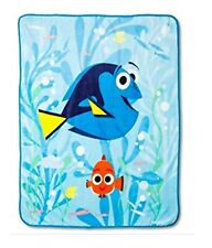"Disney Finding Dory Plush Throw Blanket ~ 50"" x 60"""