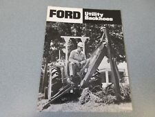 Ford Utility Backhoes Brochure                       lw