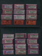 R Zettel DDR Pergamin Papier      (B55)