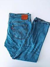"Vinatge Levis 501 Button Fly Jeans Size W31"" L32"" Distressed Look Jeans!!!"