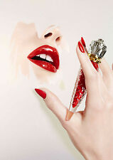 Christian Louboutin Beauty Poster Rouge Louboutin A3  260GSM