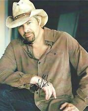 TOBY KEITH REPRINT AUTOGRAPHED SIGNED 8X10 PICTURE PHOTO COLLECTIBLE RP