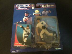 NY Yankees 1998 STARTING LINEUP Extended Series Hideki Irabu SLU MLB Baseball