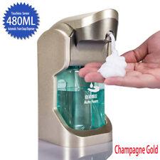 480ml Automatic Foam Soap Dispenser Smart Sensor Touchless Lotion Container Pump