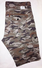 SHORT Bermuda CAMOUFLAGE Cargo ARMY Homme Taille L