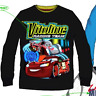Kids Boys Mcqueen Pixar Cars Disney Characters Long Sleeves T.shirt Top 3 4 6 8Y