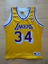 Shaq Shaquille O'Neal LA Lakers Champion Trikot Jersey NBA (XL 13-14) S RARE