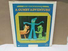 1982--A GUMBY ADVENTURE-- Laserdisc Movie