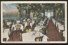 Postcard NEW YORK NY  The Alps Restaurant Interior view 1910's
