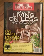 Mother Earth News GUIDE to LIVING ON LESS Live Simply Save Money Make-Free Compo