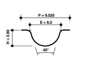 Dayco Timing Belt 94177 fits Hyundai SONATA Y-2 2.4 i