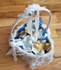 "Heart shape Bridal Wedding Party Flower Girl Basket 4"" US"