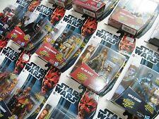 STAR WARS CLONE WARS / MOVIE HEROES/ MISSION SERIES - NEW - SEE PHOTOS!
