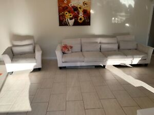 4 SEATER LOUNGE AND CHAIR from DOMAYNE