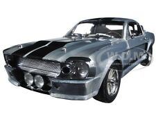 1967 FORD MUSTANG ELEANOR GONE 60 SECONDS POLISHED METAL 1/18 GREENLIGHT 12959