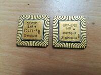 Siemens SAB 80286-R, Intel 80286, Vintage CPU, GOLD, nice condition