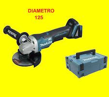 MAKITA SMERIGLIATRICE ANGOLARE DGA 505 RTJ 18v senza batteria in SCATOLA