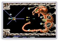 R Type Arcade Fridge Magnet. Boss Battle. Level 1