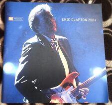 ERIC CLAPTON 2004 TOUR PROGRAM BOOK