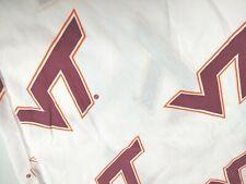 "Virginia Tech Hokies VT NCAA Fleece Fabric 50/"" Panel"