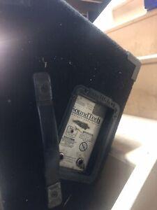 SoundTech CX4C SM5 floor monitors