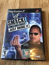 WWE SmackDown Just Bring It Greatest Hits (Sony PlayStation 2) PS2 VC3
