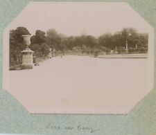 Paris 6e. Jardin du Luxembourg. Citrate 1897.