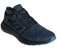 Men's Adidas PureBOOST Go LTD 'Black Shock Cyan' Running Shoes