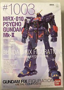 Bandai Fix Figuration Metal Mobile Armor Psycho Gundam MK-2 Action Figure #1003