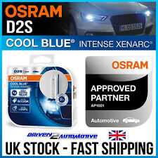 2 x OSRAM D2S 35W 5500K 66240CBI COOL BLUE INTENSE XENARC XENON UPGRADE PRESTIGE