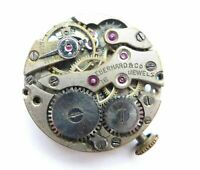 Orologio Eberhard mechanic watch anni 50 con 16 jewels clock vintage for spare