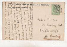 Miss Francie Furze Cardiff Road Llandaff Cardiff 1907 658b
