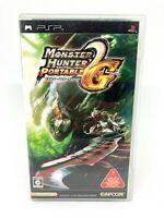Sony PSP Playstation Portable - MONSTER HUNTER PORTABLE 2nd G - Versión Japonesa