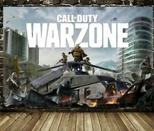 Call of Duty: Warzone Game PS4 Poster Print Canvas Wall Art 60cmX90cm No Frame