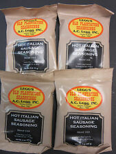 Hot Italian Sausage seasoning for 100 lbs.  Excellent recipe from A C Legg