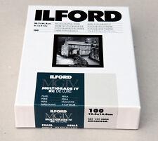 Ilford Multigrade IVRC De Luxe Pearl Black & White 10.5cm x 14.8cm 100 sheets