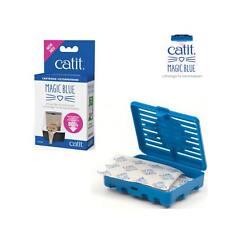 Catit Magic Blue Patronenset Geruchsfilter für jede Katzentoilette geeignet  !